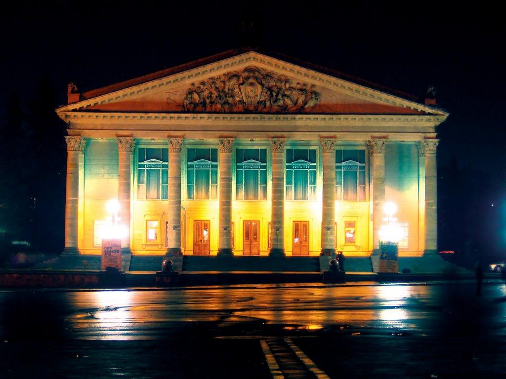 Нічний тернопільський драматичний театр, Тернополь