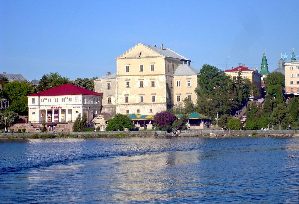 Ternopil, castle (1540, Jan Tarnowski), Тернополь