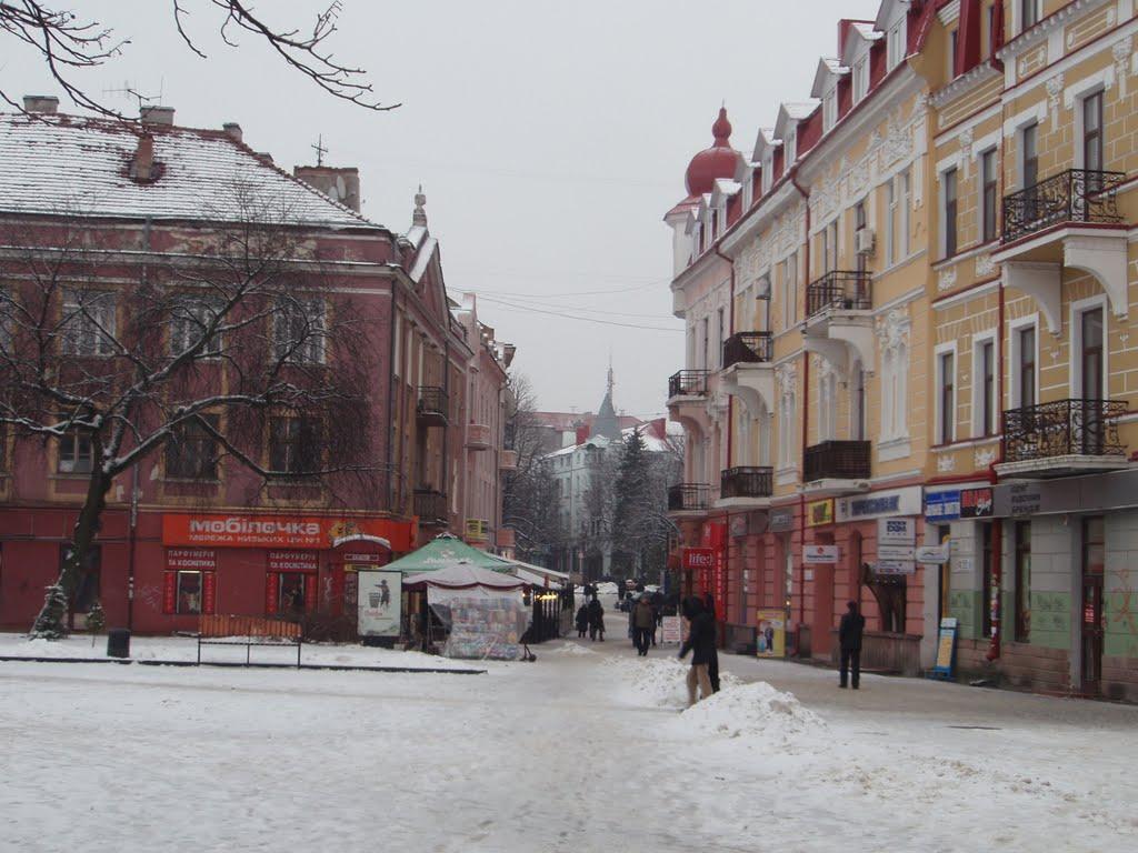 Зимний город, Тернополь