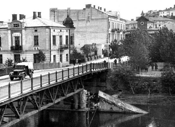 Chortkivs bridge, Чортков