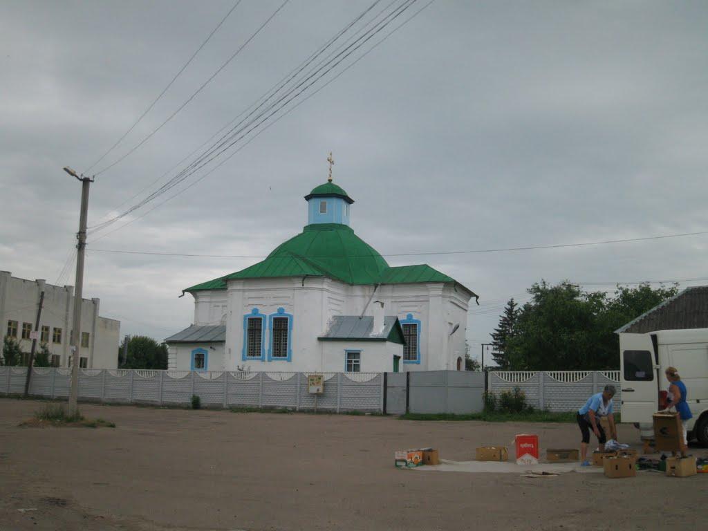 Храм св.Арх.Михаїла 1781 року в смт.Куликівка, Куликовка