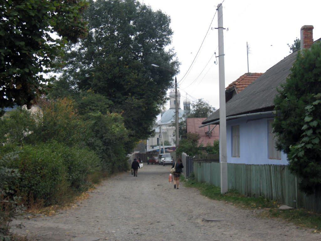 дорога на ринок і до церкви, Кицмань