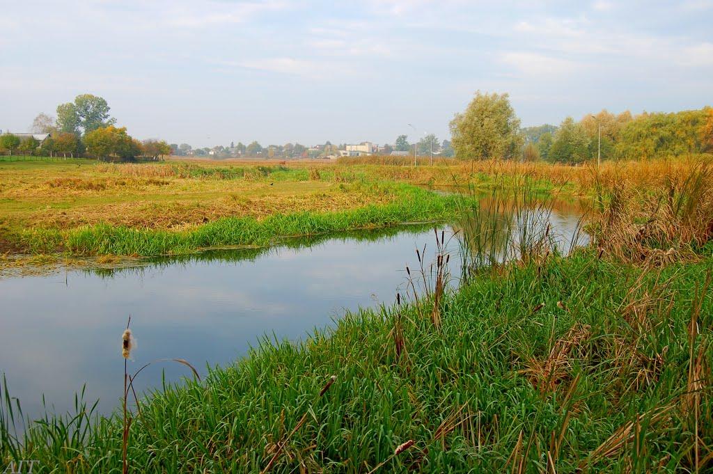 Река Луга., Владимир-Волынский