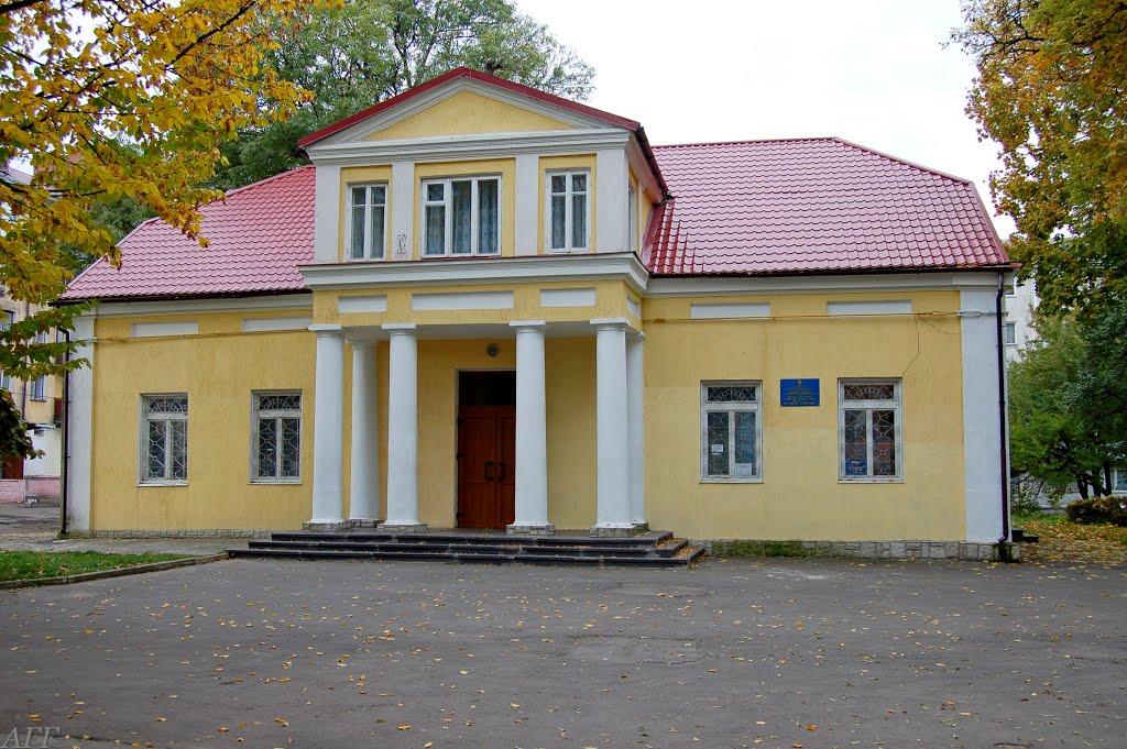 Интересное здание., Владимир-Волынский