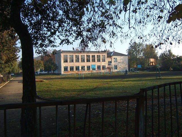 A School in Rozhysche, Рожище