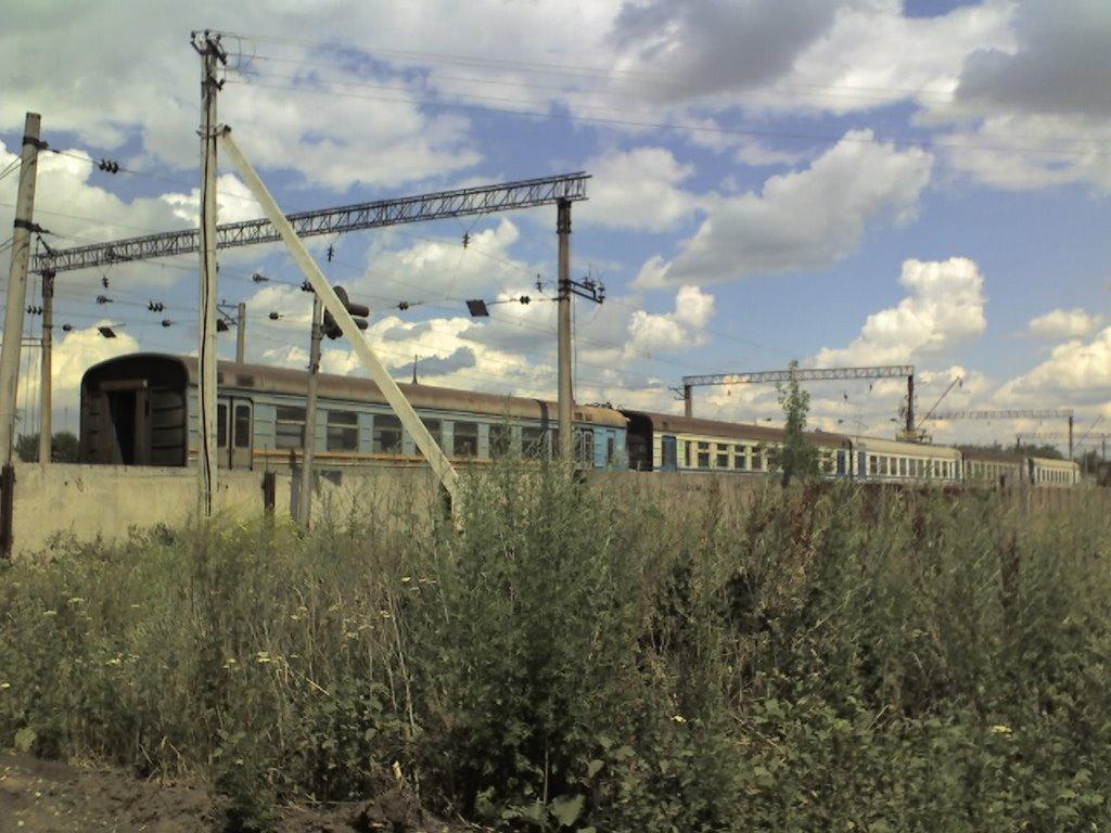 Депо ржавых электричек, Межевая